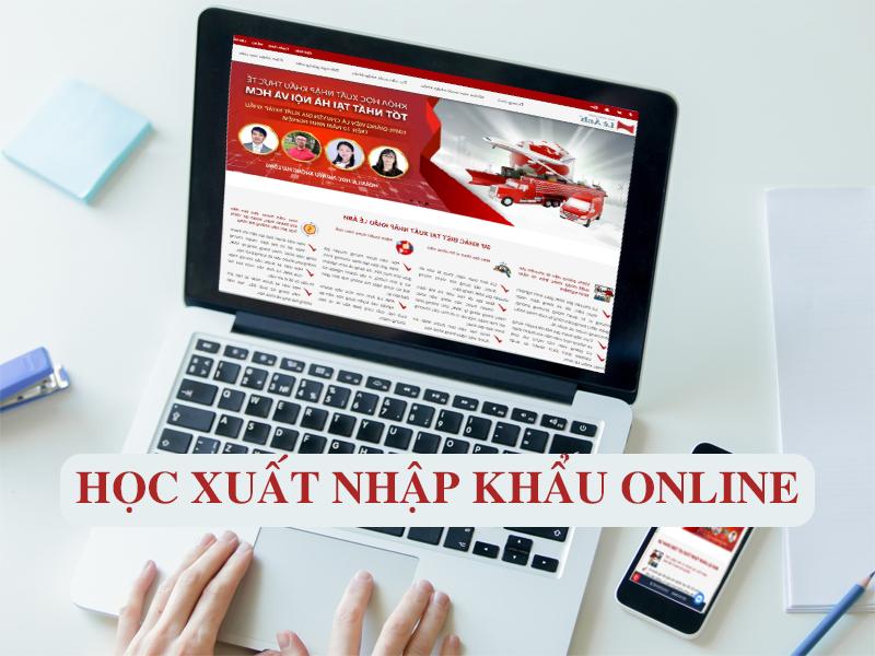 Học xuất nhập khẩu online