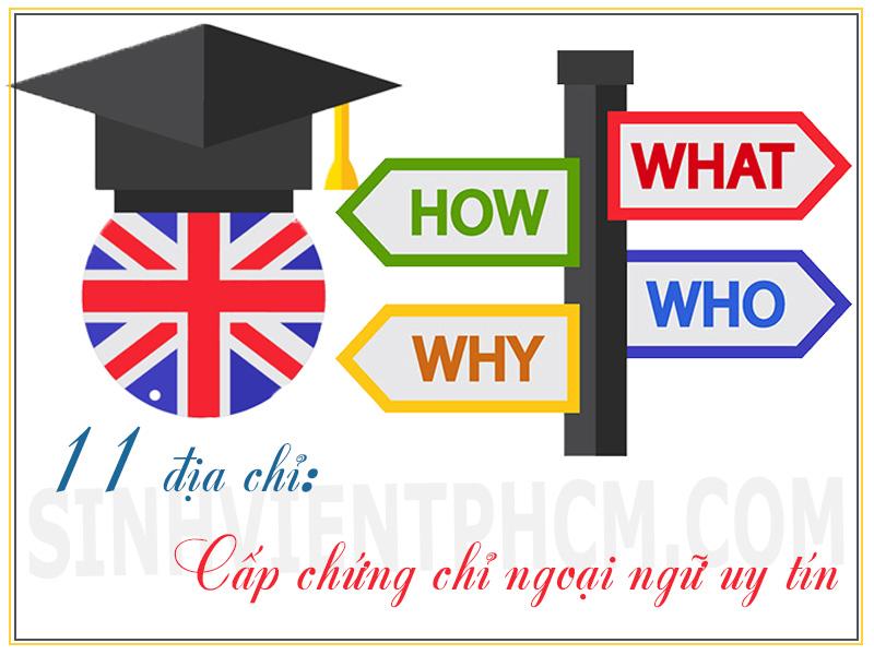 Chứng chỉ ngoại ngữ